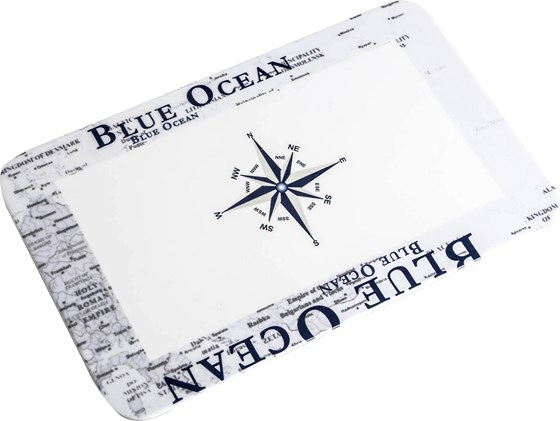 DESKA DO KROJENIA BRUNNER BLUE OCEAN 23,5x14,5 cm